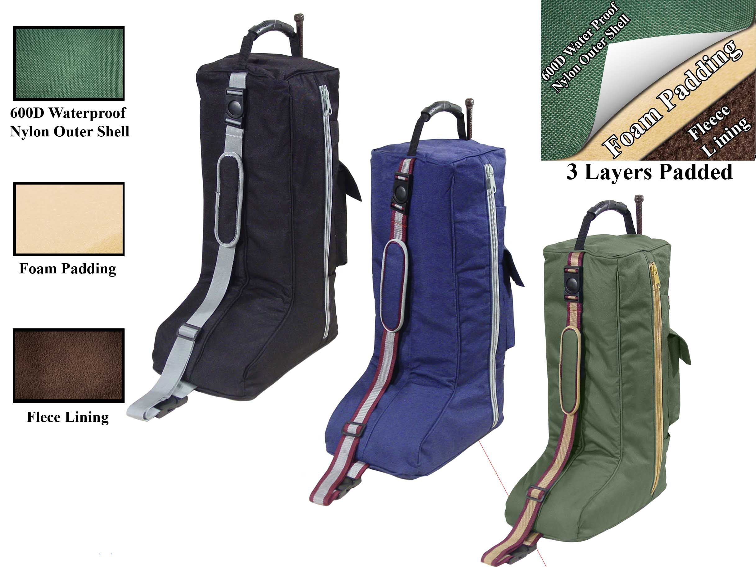 Derby English Horse Saddle, Bridle, Boot, and Garment Carry Bag Set with One year warranty by Derby Originals (Image #4)