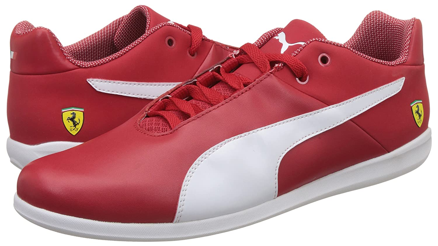 bd4d6cb18033 Puma Men s Sf Future Cat Casual Leather Sneakers  Buy Online at Low Prices  in India - Amazon.in