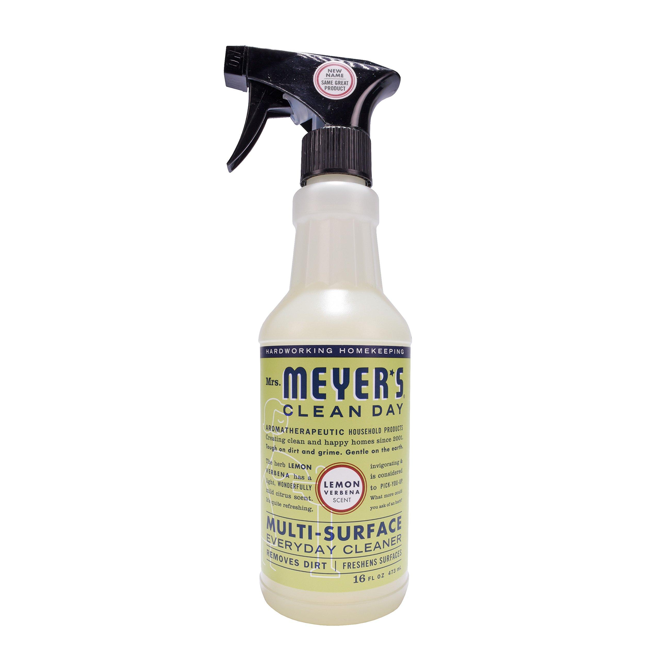 Mrs. Meyer's Clean Day Kitchen Basics Set, Lemon Verbena, 3 ct: Dish Soap (16 fl oz), Hand Soap (12.5 fl oz), Multi-Surface Everyday Cleaner (16 fl oz) by Mrs. Meyer's Clean Day (Image #10)