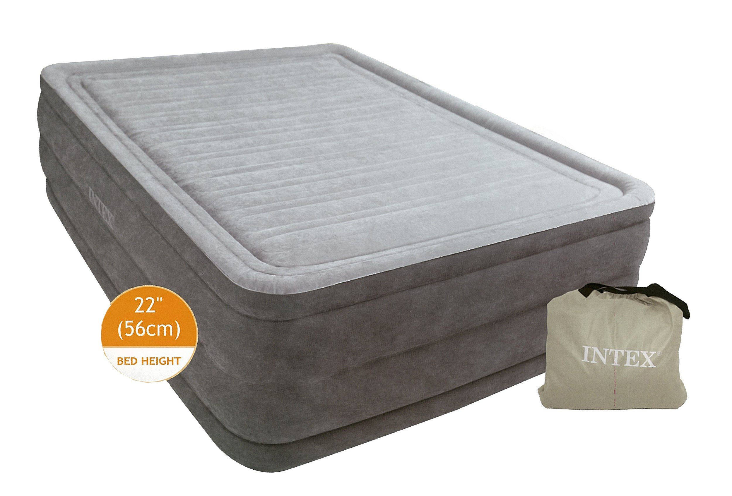 Intex Comfort Plush Elevated Dura-Beam Airbed with Built-in Electric Pump, Bed Height 18'', Twin by Intex (Image #13)