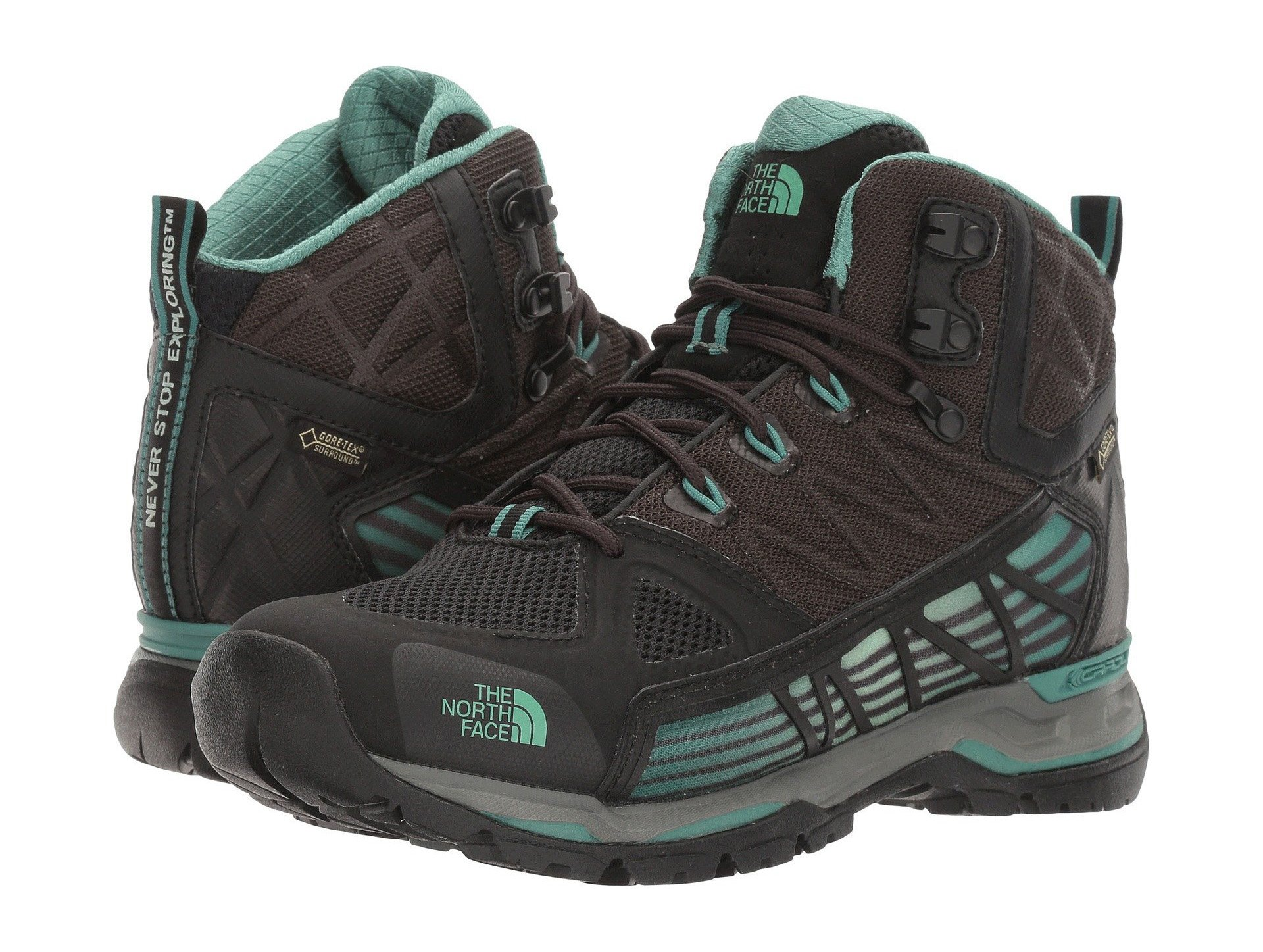 THE NORTH FACE WOMEN'S ULTRA GORE-TEX SURROUND MID (8, TNF Black/Deep Sea)