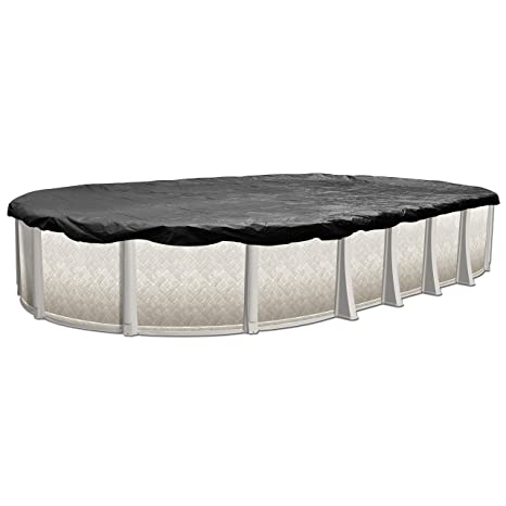 In The Swim 8-Year 15 x 30 Foot Oval Pool Winter Cover for Above Ground  Pools