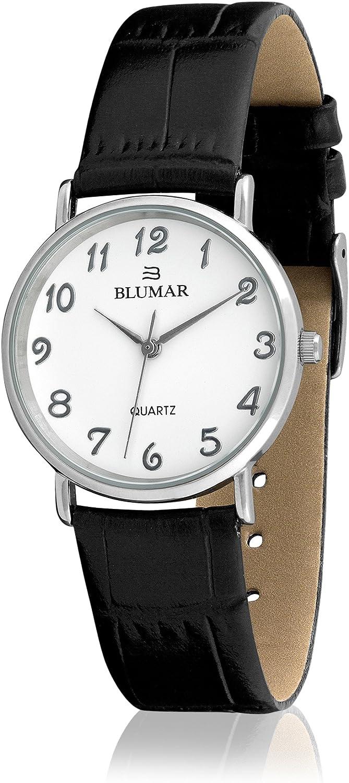 BLUMAR 9244 - Reloj de Caballero Piel