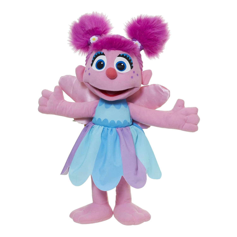 amazon com playskool sesame street abby cadabby jumbo plush toys