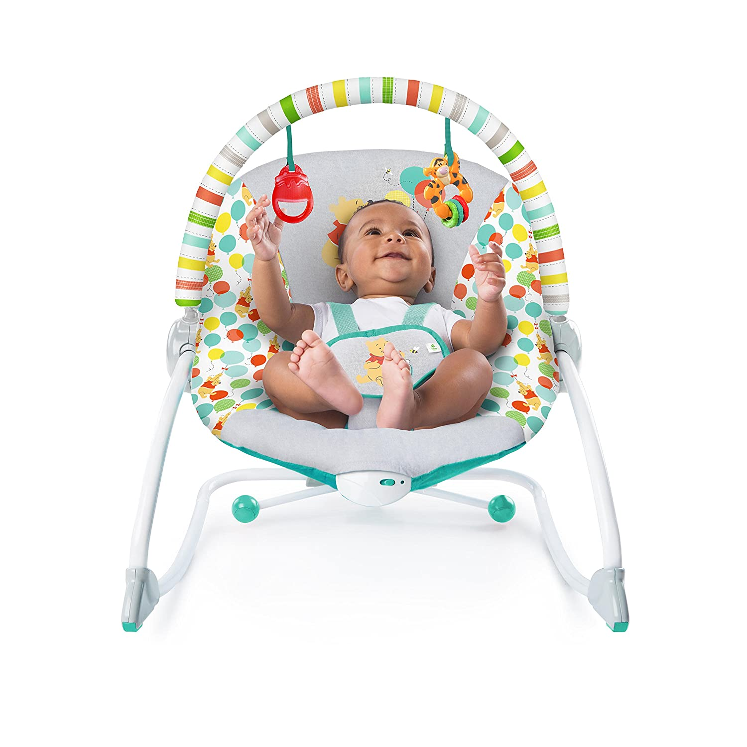 Enthusiastic Fisher-price Woodsy Friends Comfy Time Bouncer Baby Rocker Baby Baby Swings