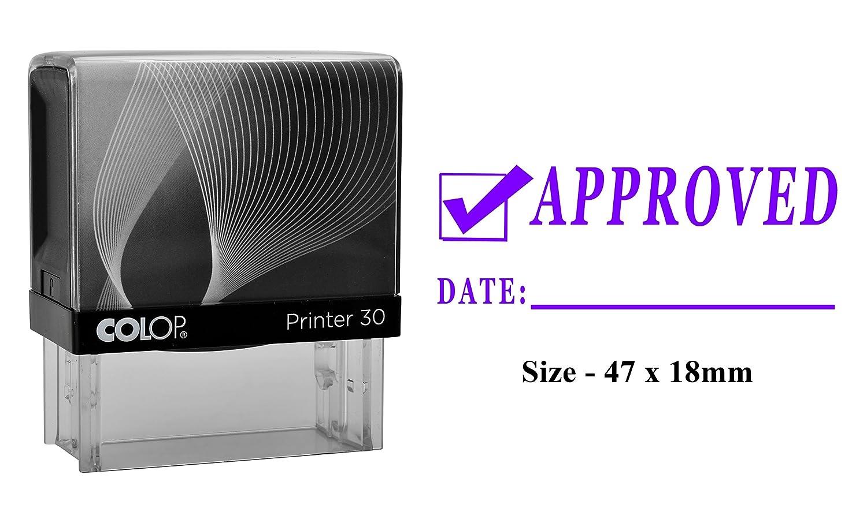 APPROVATO Ufficio personalizzato e Stamperia commerciale Stampante Colop Timbro 30 Stamper