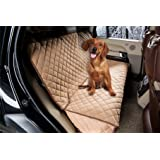 ZQ Waterproof All Coverage Padded Anti-slip Dog Car Seat Cover Seat Hammock Bench Protector for Pets