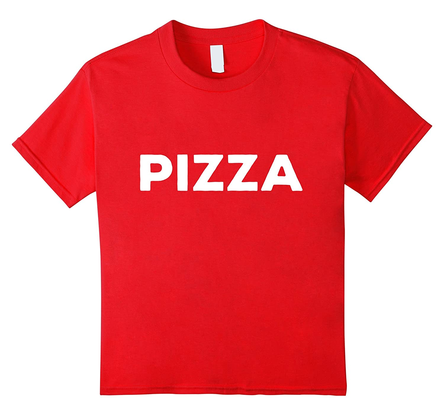 Shirt That Says Pizza Large-Teesml