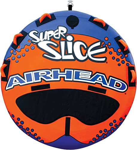 Steerable Super Slice Inflatable Towable Water Tube for Boating [Airhead] Picture