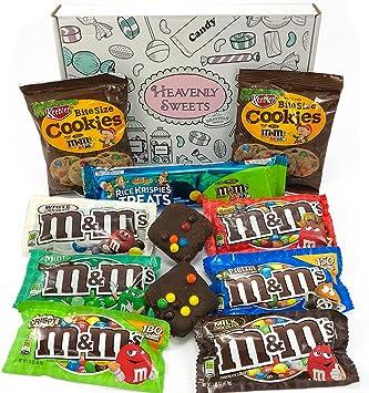 Cesta Americana M&M | Chocolate y Caramelo | Golosinas para ...