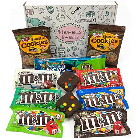 Amerikanische M&M\'s Süßigkeiten Geschenkkorb   M&M Süßigkeiten aus ...