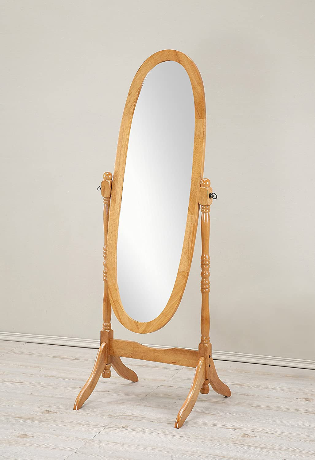 Wonderful Amazon.com: Roundhill Furniture Traditional Queen Anna Style Wood Floor  Cheval Mirror, Cherry Finish: Home U0026 Kitchen