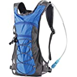 Hydration Pack Backpack with 70 oz 2L Water Bladder for Running, Hiking, Cycling, Climbing, Camping, Biking