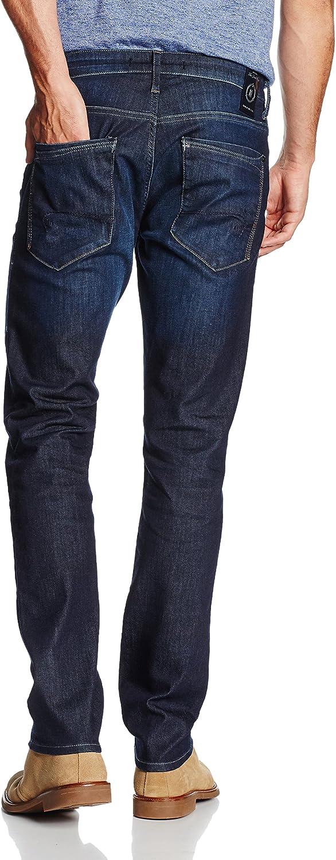 Mavi Yves Jeansbroek voor heren Blauw (Rinse Used Ultra Move 21149).