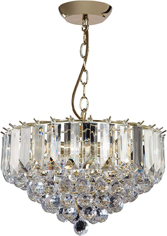 Endon Lighting 3 Light Crystal Chandelier | Ceiling lights
