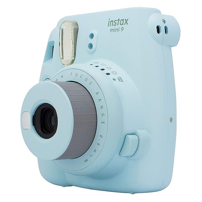 Fujifilm Instax Mini 9 - Cámara instantánea, Solo cámara, Azul