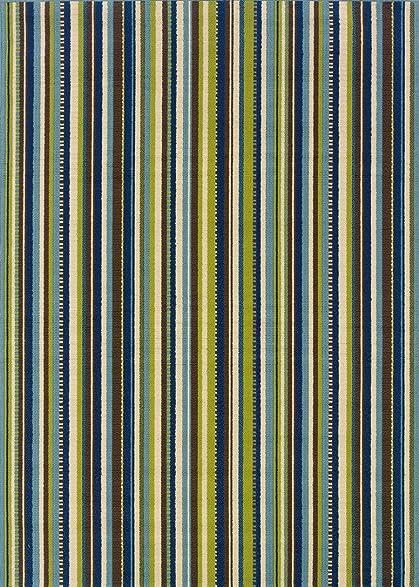 Oriental Weavers 1004X Caspian Round Outdoor Indoor Area Rug, 7-Feet 10-Inch