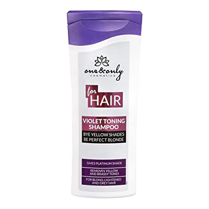 ONE ONLY for Hair Violet Toning shampoo 200ml  shampoo per cura dei capelli  biondi e4a574e9d59d