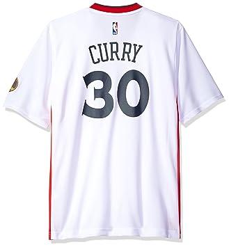brand new 61ac1 3a813 adidas Men's Short Sleeve Replica Jersey NBA: Amazon.co.uk ...