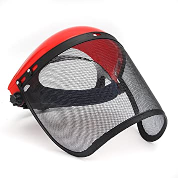 Clear Face Shield Screen Full Safety Mask Eye Protector Protection