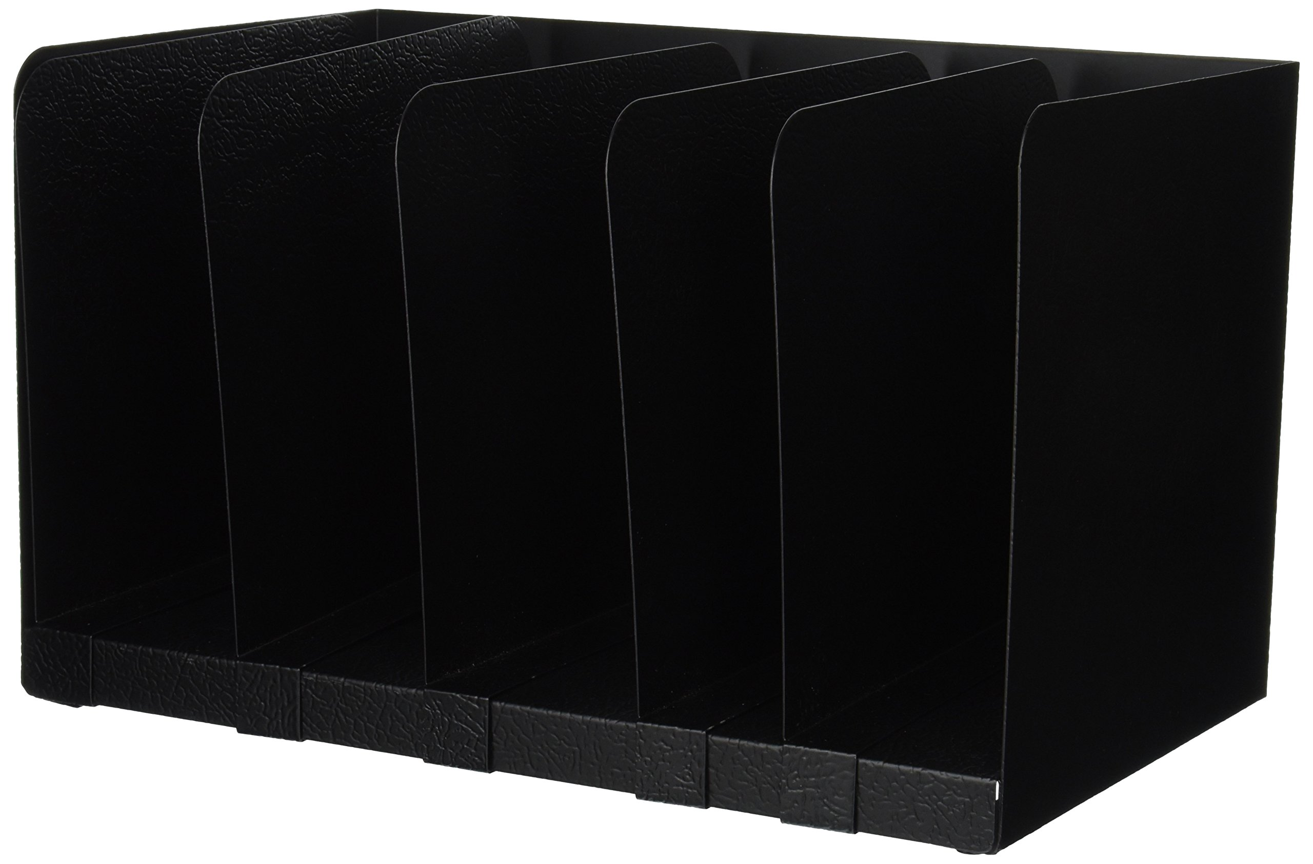 Buddy Products Adjustable Book Rack, Steel, 9.25 x 9.25 x 15 Inches, Black (0570-4)