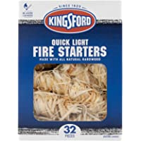 Deals on KINGSFORD BB12068 Fire Starters, 32 Count, Natural