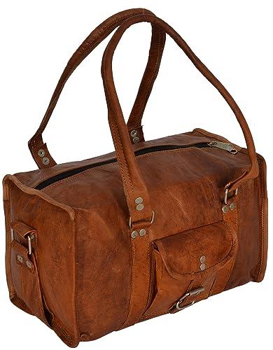 "Gusti Cuir nature ""Lucas"" sac de voyage bagage à main bagage cabine sac  bandoulière e36b7f787f9"