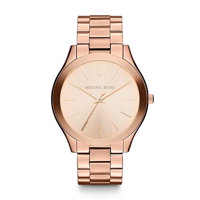 Michael Kors Womens Runway MK3513 Rose Gold Stainless-Steel Quartz Fashion Watch: Michael Kors: Amazon.es: Relojes