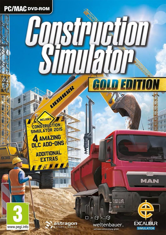 Construction Simulator Gold (PC DVD): Amazon co uk: PC