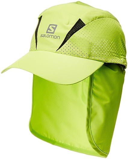 Salomon Gorra unisex con protector de nuca extraíble, XA+ CAP, L/XL,