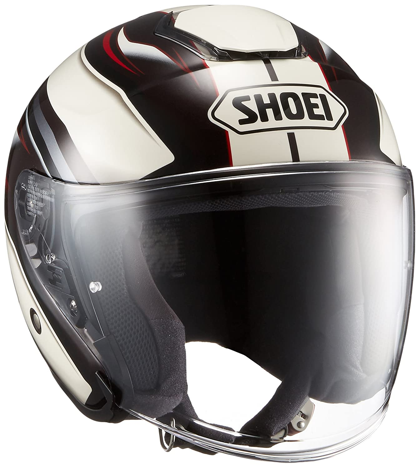 ショウエイ(SHOEI) J-CRUISE PASSE【パッセ】 TC-10 (BROWN/WHITE) XL (61cm)