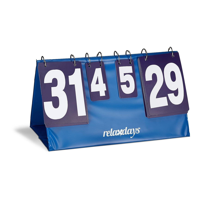 25 heures de tennis de table - Relaxdays Tableau De Score Tennis De Table Ping Pong Hxlxp 25 7 X 48