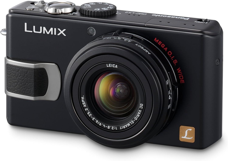 Panasonic Dmc Lx2eg K Digitalkamera 2 8 Zoll Schwarz Kamera