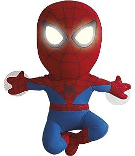 Worlds Apart 257SPR01E - Peluche de Spiderman con ojos luminosos (funciona con pilas AAA)