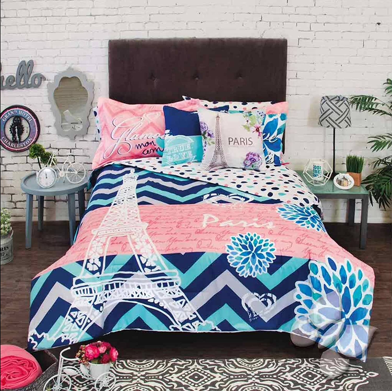 bed details comforter taste comforters solid blue king of with very sets good image