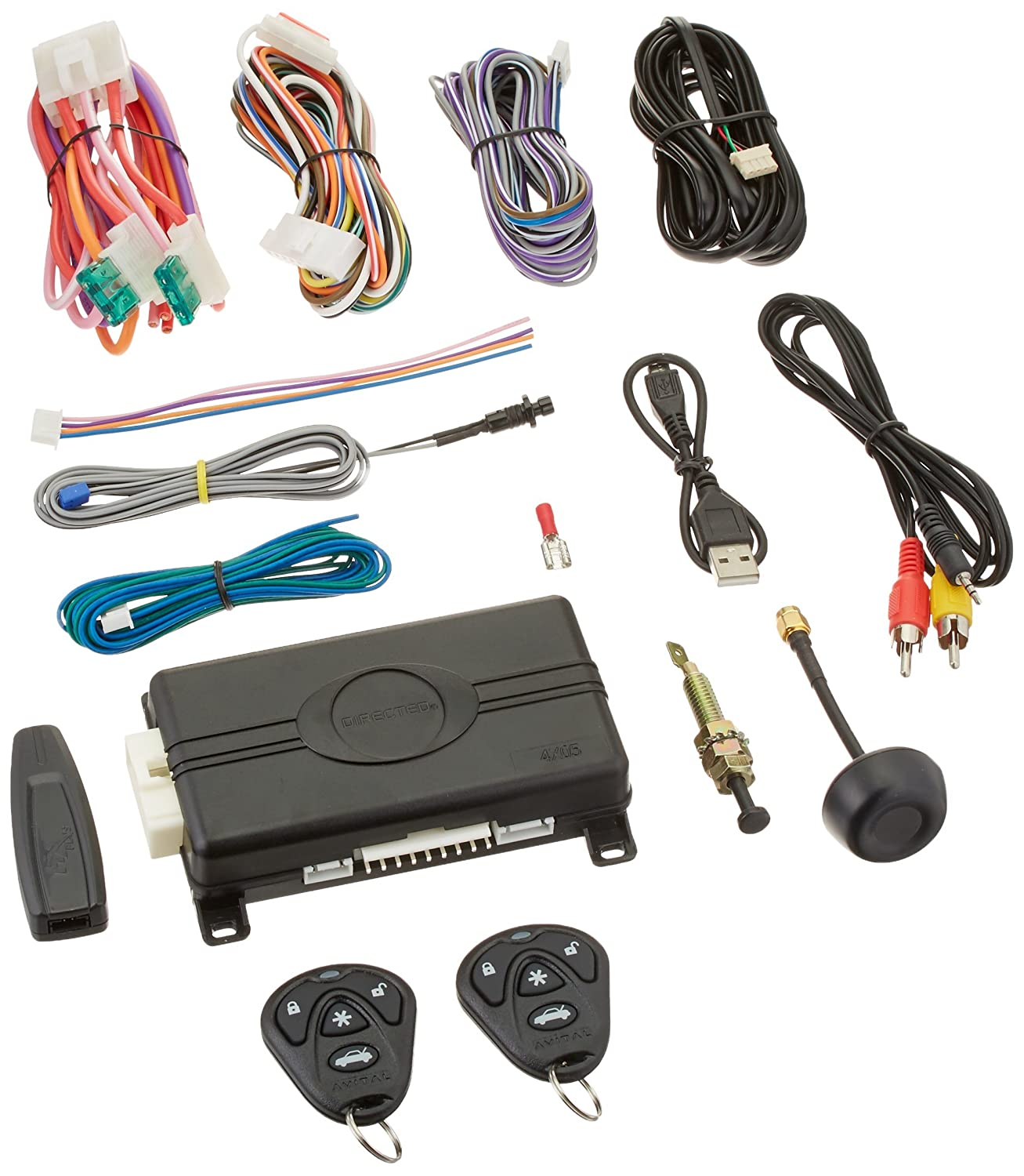 Replacement Remote Start Brain Module 4x05 Dei Directed Direct Wire Vehicle Wiring Database Python Avital 4105l Brains Only Car Electronics