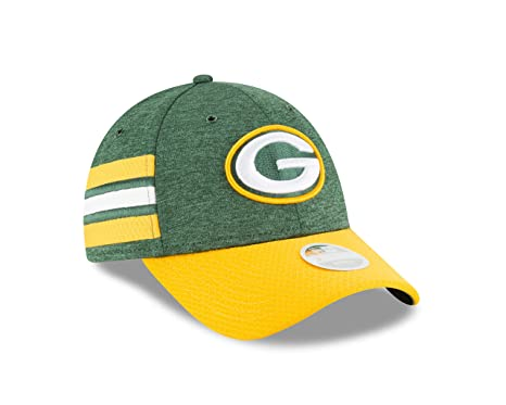 3dee3c7bc23 Image Unavailable. Image not available for. Color  New Era Green Bay Packers  Official Sideline Home 39THIRTY Stretch Fit Cap