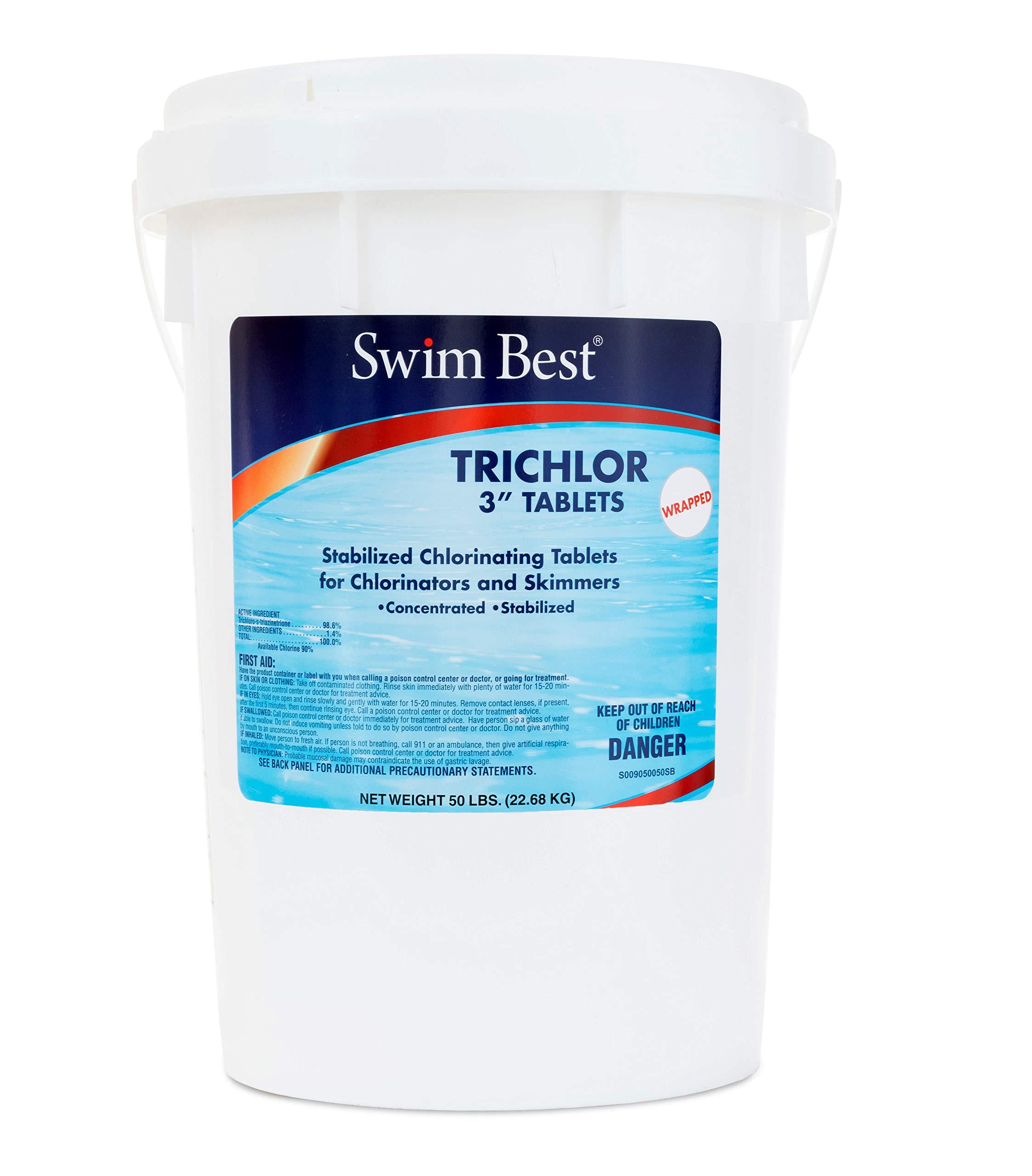 Swim Best U009050050 Swimming Pool Chlorine, 50 lbs by Swim Best