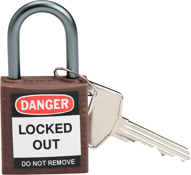 Brown Brady Corp Brady 143160 Compact Safety Lock