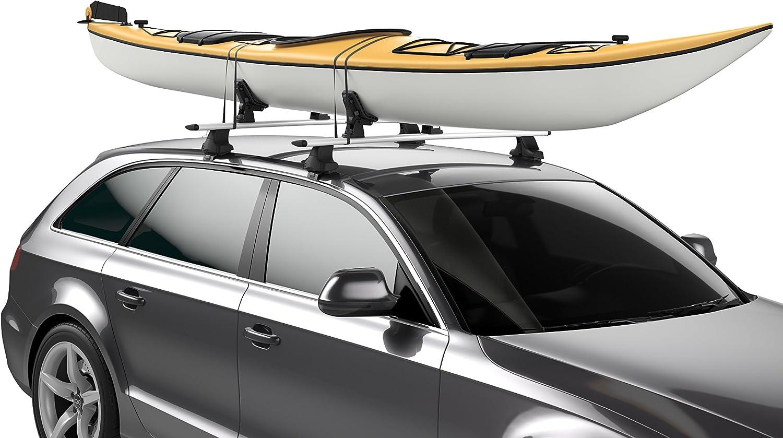 RUK Combi Rack /& Tie Downs Kayak Roof Rack Supports Canoe
