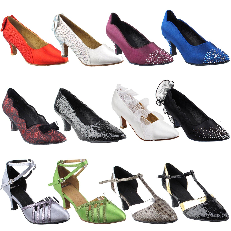 高級素材使用ブランド [Gold Pigeon Size-12 Shoes] レディース Heel B078K87NS2 Heel 3