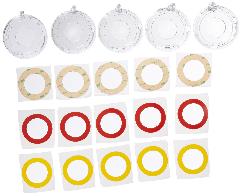 Brady 130824 Push Button Lockout Base, Plastic, 30 mm