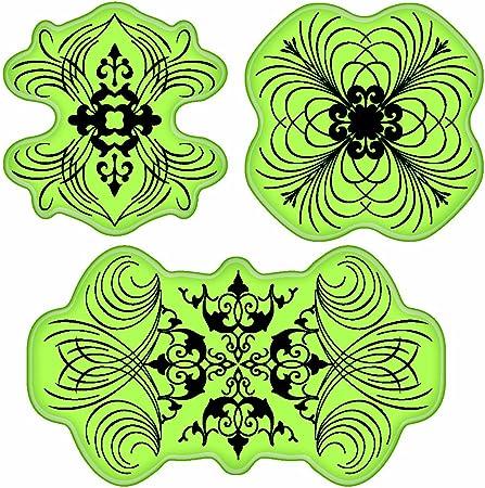 Inkadinkado Stamping Gear Cling Stamps Shells