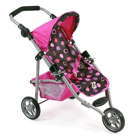 Bayer Chic 2000 612 48 – Jogging Buggy Lola, pequeño Carro para muñecas de hasta