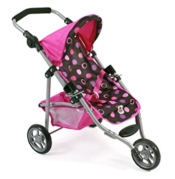 Bayer Chic 2000 Jogging-BUGGY Lola Dots CORALLO