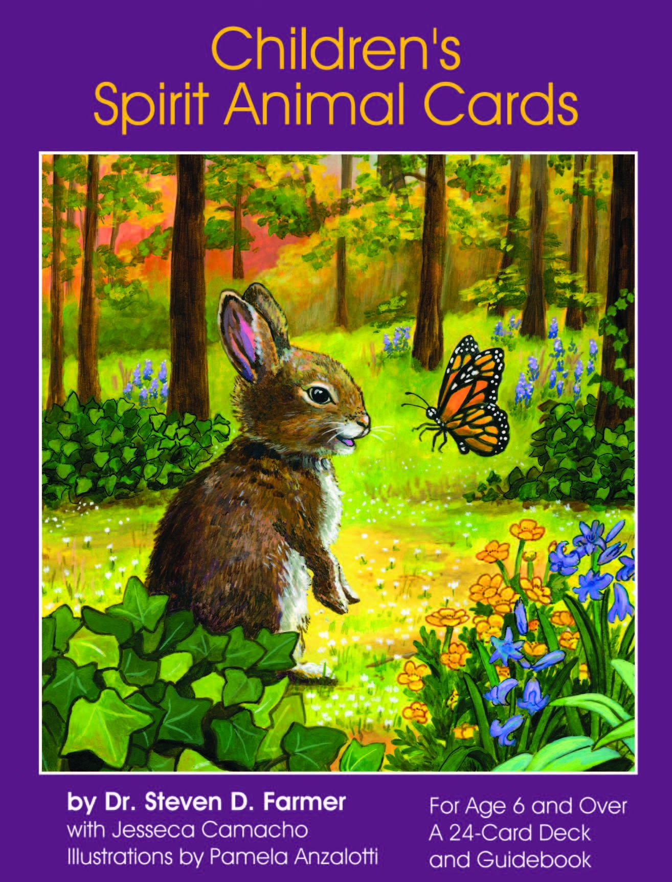 Cartas oraculo Childrens Spirit Animal [Importadas] xsr