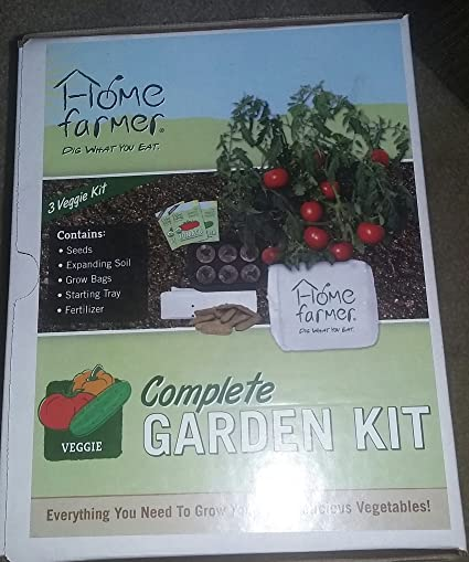 Home Farmer 810768020215 DIY Complete Garden Kit