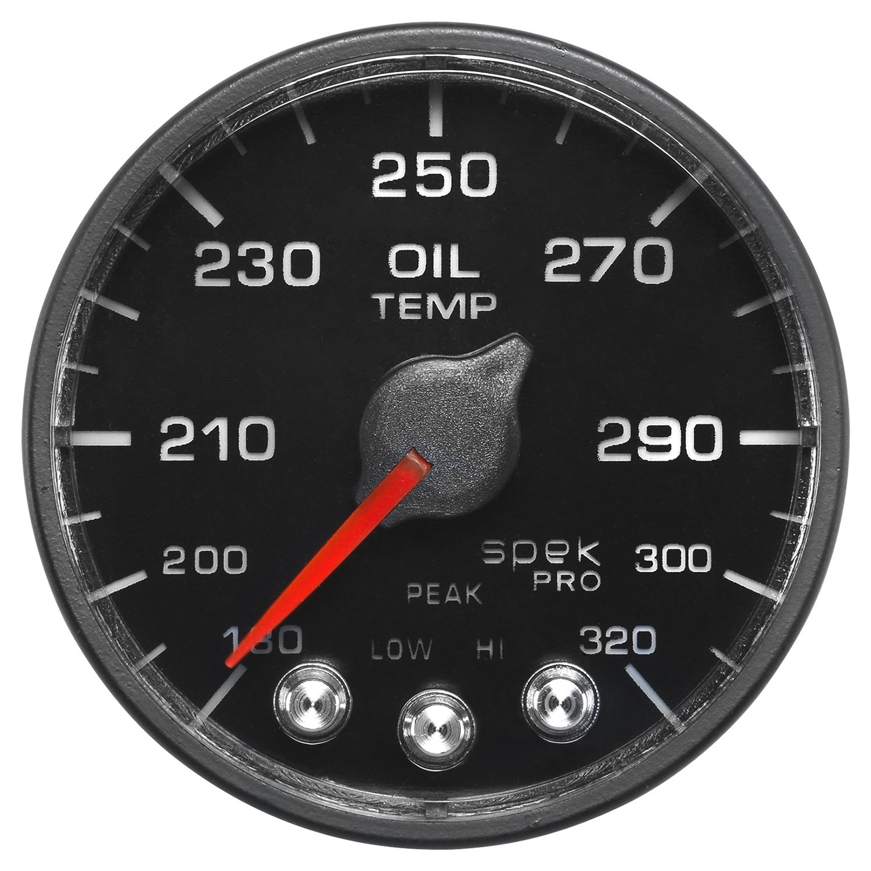 100-300`F Spek Auto Meter P522328 Pro-Nascar 2-1//16 Oil Temp BFB ECU