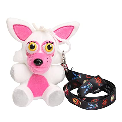 Microplush Five Nights at Freddys Mangle Plush 5inch with Lanyard