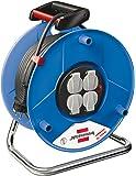 Brennenstuhl BN-HASP03 - Power Extensions (Black, Blue, Black, Plastic, 50 m)